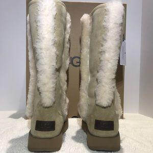 58fb8cc3d87 UGG Sundance Waterproof Tall Boots FurTrim 1017511 NWT